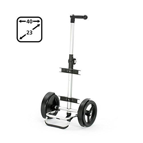 Andersen Tura Shopper 29cm Rad stylischer Einkaufs-Trolley Schwarz