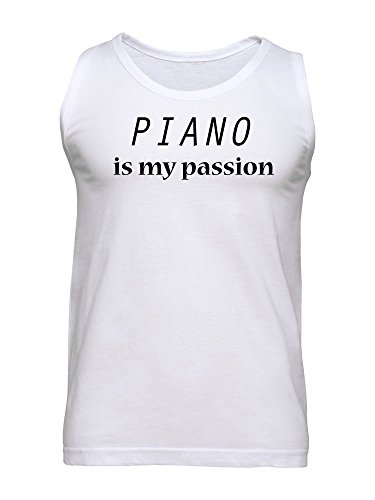Piano Is My Passion Men's Tank Top