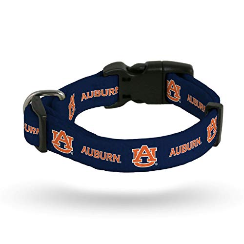 Rico Auburn Tigers NCAA (Small Adjustable 9-14 inch) Nylon Pet Dog Collar