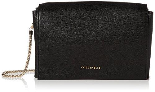 Coccinelle Womens Elise Shoulder Bag Black (Noir)