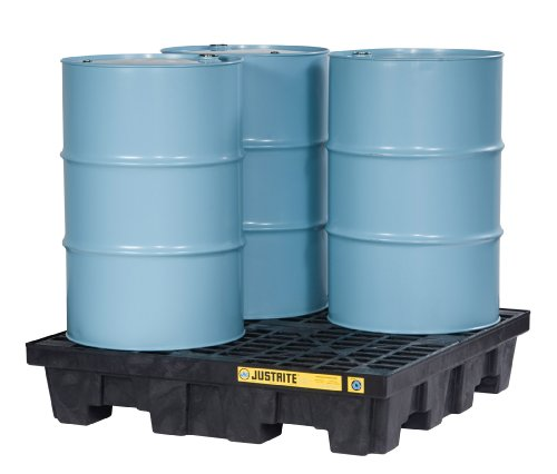 (Justrite 28637 EcoPolyBlend 75 Gallon Sump Capacity, 49
