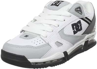 DC Men's VersaFlex Skate Shoe,White/Armor,10.5 M US