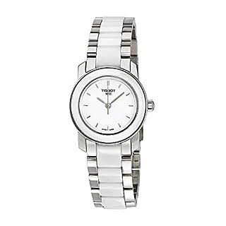 Tissot Women's T0642102201100 Cera Silver-Tone Ceramic Watch (B004R1R1XW)   Amazon price tracker / tracking, Amazon price history charts, Amazon price watches, Amazon price drop alerts