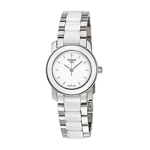 Tissot Women's T0642102201100 Cera Silver-Tone Ceramic Watch