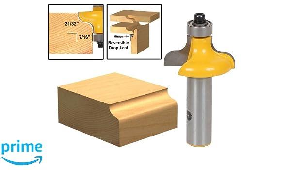 Yonico 13147 - Broca fresadora tradicional para bordes de mesa, 7 ...
