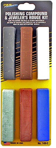 Enkay 149-C Polishing Compound Kit, carded