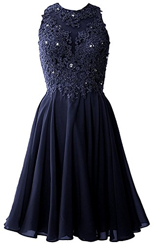 Ballkleider Navy mia Partykleider Promkleider Blau Kurzes Spitze Weinrot La Braut Mini Abendkleider Festlichkleider ngAnP0