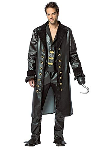Once Upon A Time Hook Halloween Costumes (Rasta Imposta Men's Once Upon A Time Hook, Black,)