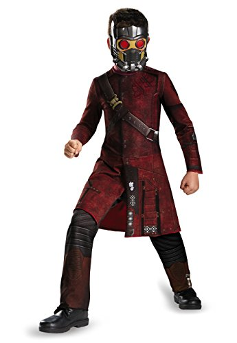 Star Childrens Costumes (Disguise Marvel's Guardians of The Galaxy Star-Lord Classic Boys Costume, Small/4-6)