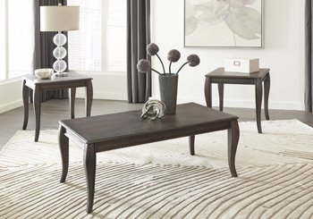 Amazon.com: Signature Design By Ashley T316-13 Occasional Table Set ...