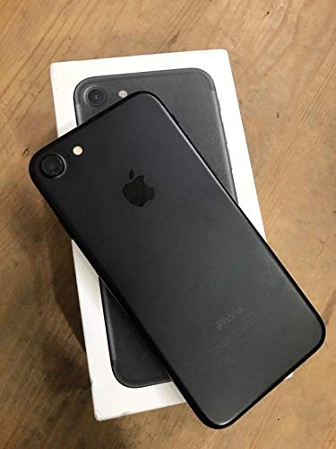 Apple iPhone 7, Fully Unlocked, 128GB - Black (Renewed)]()