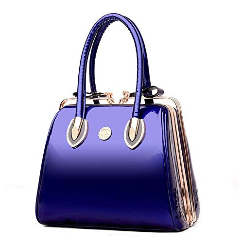 Dimensione Donna Tracolla A 28x14x26cm Borsa Willsego Blu Da Con colore EqaxH8v