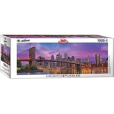 EuroGraphics Brooklyn Bridge New York 1000-Piece Puzzle: Toys & Games