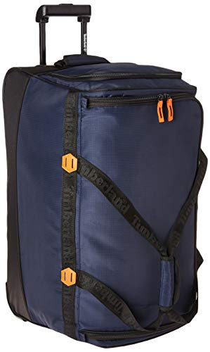 Timberland Wheeled Duffle 26 Inch Lightweight Rolling Luggage Travel Bag Suitcase, Dark Sapphire