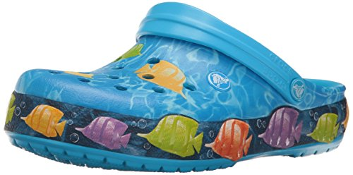 Crocs Unisex Crocband Lights Fish Clog Mule