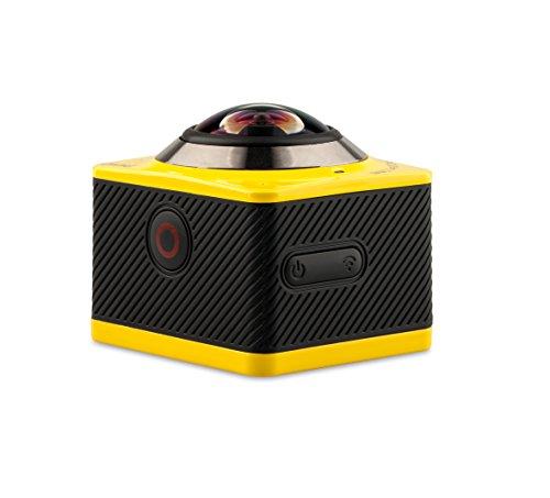 OVTECH 3D VR 360度カメラ全天球ビデオカメラ 4k アクションカメラWifi 防水 モーション記録 自転車 スキー サーフ ダイビングといったアウトドアスポーツや空撮対応 日本語の説明書付き M360B