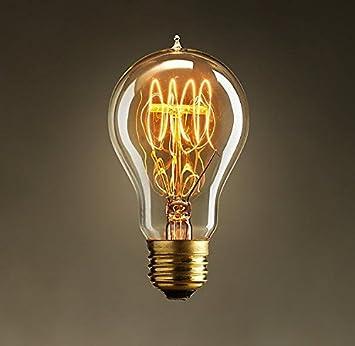 ASVP Shop® Dimmable Vintage edison filament light bulb Steampunk Style Light  Bulb designer antique -