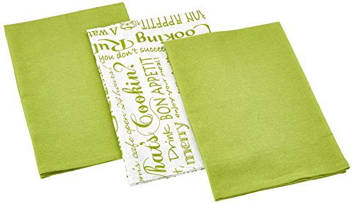 Attrayant Amazon.com: Kay Dee Designs Cook Flour Sacks Towels Set/3 (black): Home U0026  Kitchen