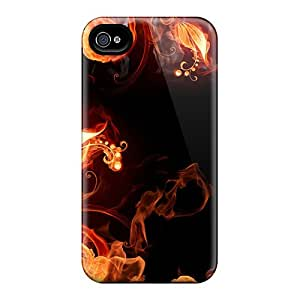 Anti-scratch And Shatterproof Fire Plants Phone Cases For Iphone 6/ High Quality Cases