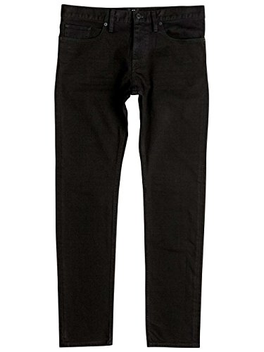 DC Shoes Worker Rinse - Slim Fit Jeans - Jean coupe slim - Homme - 28 - Noir