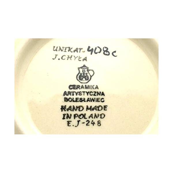 Polish Pottery Mug – 11 oz. Bubble – Unikat Signature U408C