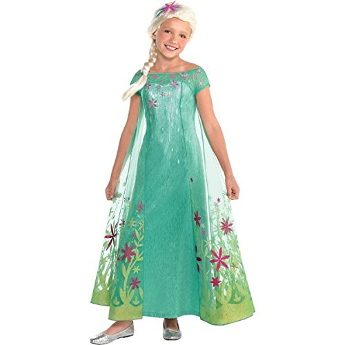 Elsa Disney Frozen Fever Costume,