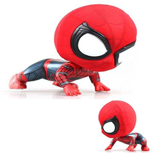 Bobble Head Spiderman Action Figure For Car Home Decoration (#3)