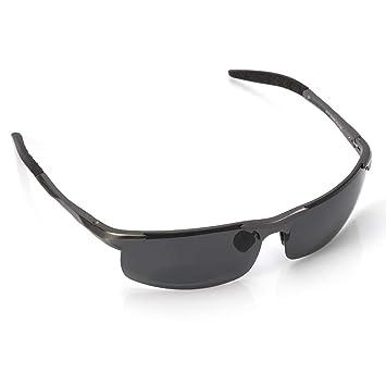 DAYANGE Gafas De Sol Polarizadas De Magnesio De Aluminio Masculino Gafas De Pesca De Ocio Gafas
