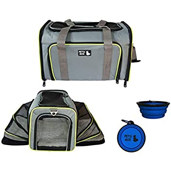 1c1468a1de PETS GO2 Pet Carrier for Dogs & Cats | Best Airline-Approved Dog Travel Bag