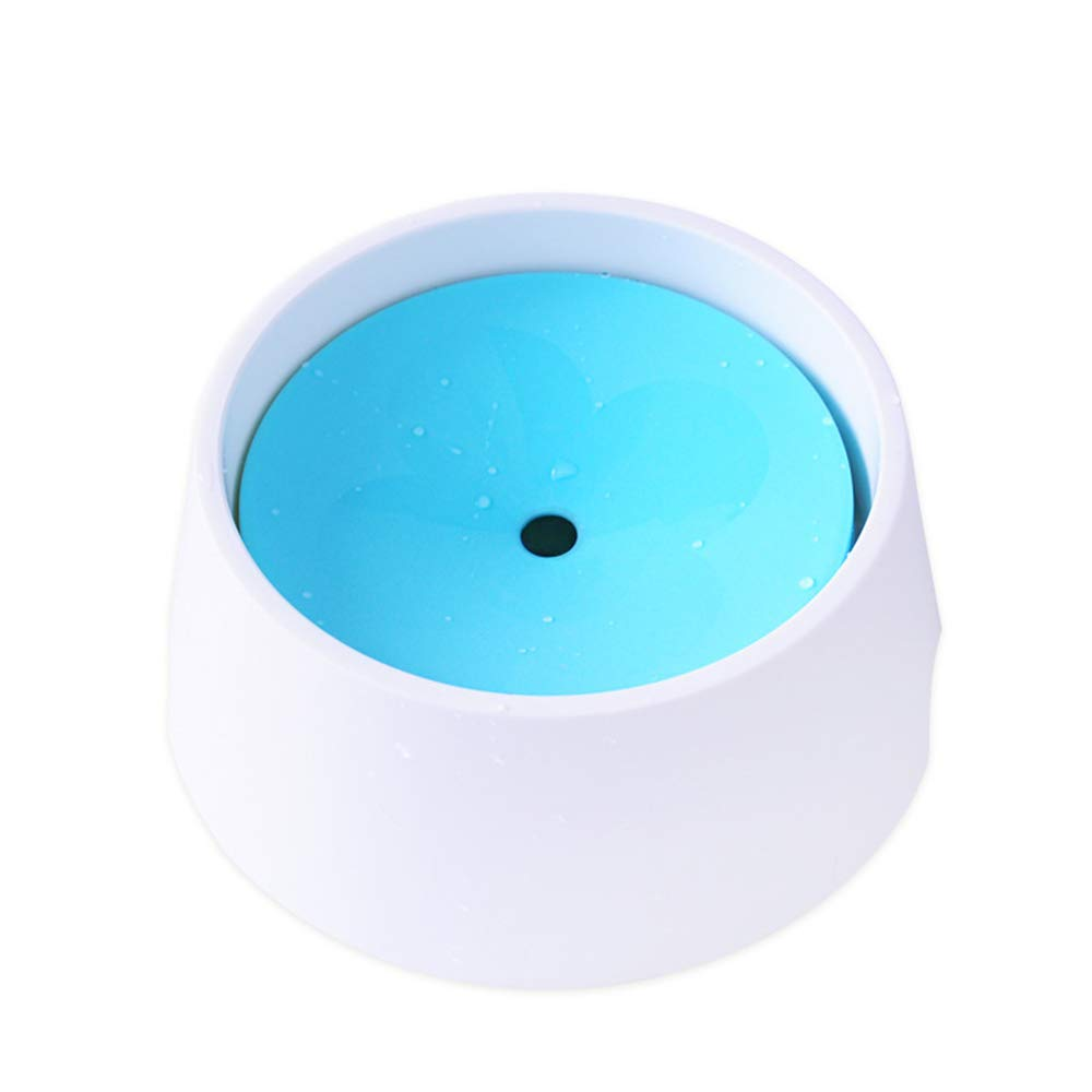 bluee M bluee M Pet Supplies White Drinking Fountains cat Drinking Water Bowl Drinking Bowl,bluee,M