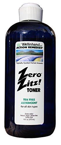 Zero Zitz Astringent (Zero Zitz! Tea Tree Astringent 16 fl.oz. Refill Economy)