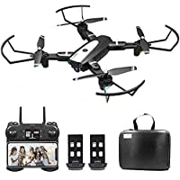 B-Qtech Drone with Camera, 4K HD Foldable WiFi RC Quadcopter for Adults & Kids, 30 Min Long Flight Time, One Key Return…