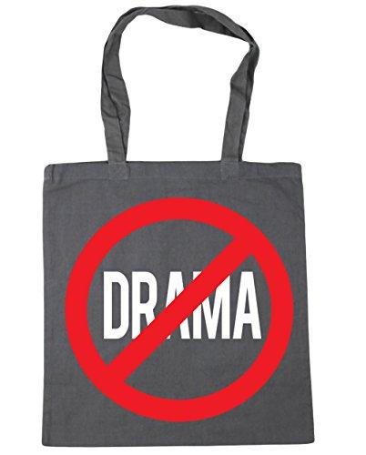 HippoWarehouse no Drama Tote Compras Bolsa de playa 42cm x38cm, 10litros gris grafito
