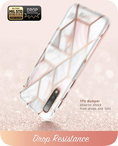 i-Blason Cosmo Series for Samsung Galaxy A50/A50s/A30s Case, Slim Full-Body Stylish Protective Case with Built-in Screen Protector