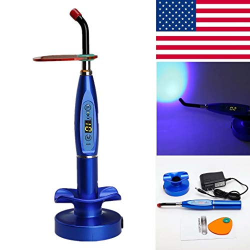 Blue Led Curing Light in US - 5