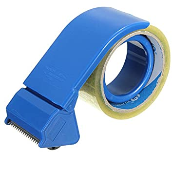 Calli Cajas de embalaje de embalaje dispensador de cinta de 50 mm de mano de 2