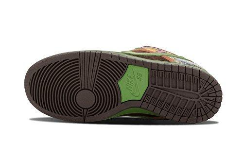 """Männer Nike Dunk Low PRM DLS SB QS """"De La Soul"""" Skateboardschuhe - 789841 332 safari höhe grün BBQ braun 332"""