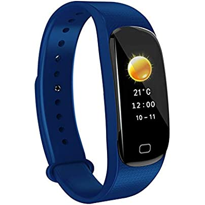 AZW Smart Watch Waterproof IP67 Fitness Wristband Heart Rate Sleep Monitor Step Counter Color Screen Estimated Price £22.99 -