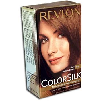 revlon coloration colorsilk 54 chtain dor clair 5g - Revlon Coloration