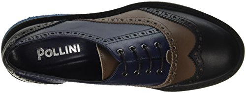 Pollini Sa21339m02t2 - zapatos de tacón de punta cerrada Mujer Marrone (Testa Di Moro)