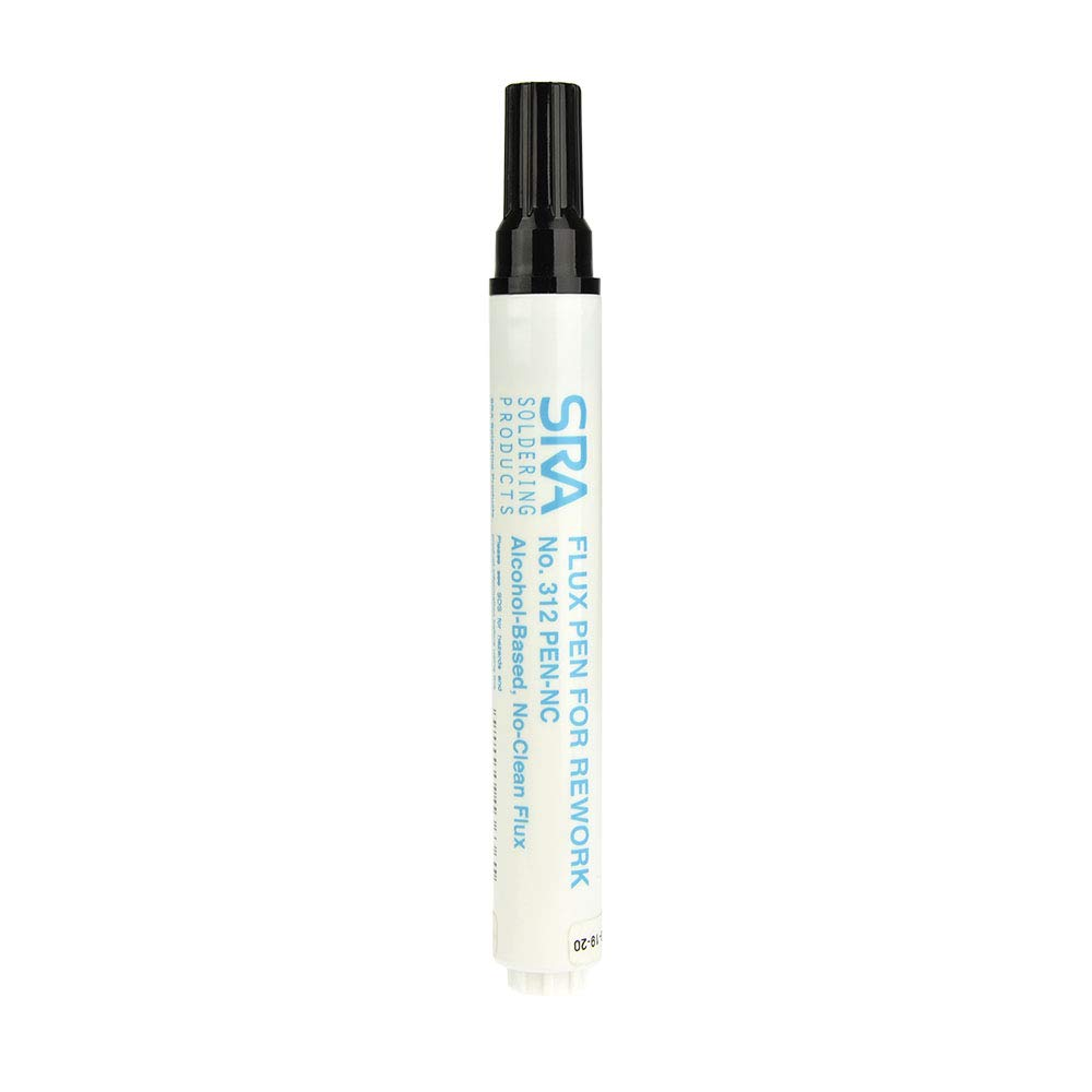 SRA #312 Soldering Flux Pen Low-Solids, No-Clean 10ml - Refillable