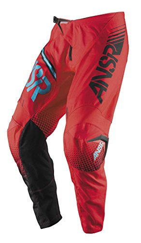 Answer Youth Syncron Pant - Answer Syncron Youth Pants, Distinct Name: Red/Teal, Gender: Boys, Primary Color: Red, Size: 26, Size Segment: Youth