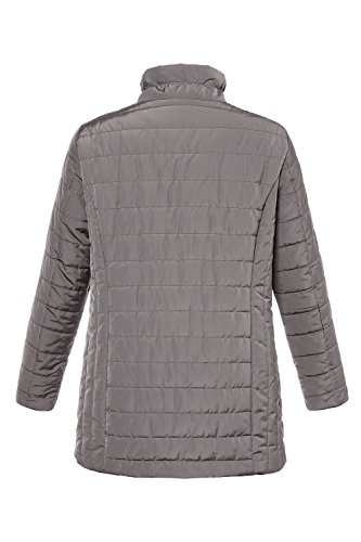 Jacket Women's Taupe 712497 Ulla Plus Popken Size All Warm Weather Quilted Soft a5qwAq86