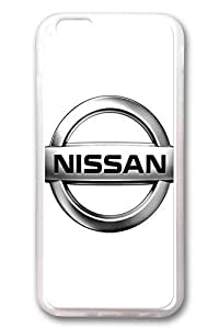 iPhone 4 4s Case - Clear Soft TPU Back Cover with Nissan Car Logo 4 Print for iPhone 4 4s Scratch-Resistant Clear Slim Fit Cover for iPhone 4 4s es