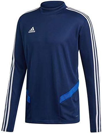 adidas Herren TIRO19 TR TOP Sweatshirt, Dark Blue/Bold Blue/White, S/L