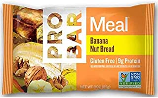 product image for Probar Banana Nut Bread Meal Bar, 3 Ounce -- 144 per case.
