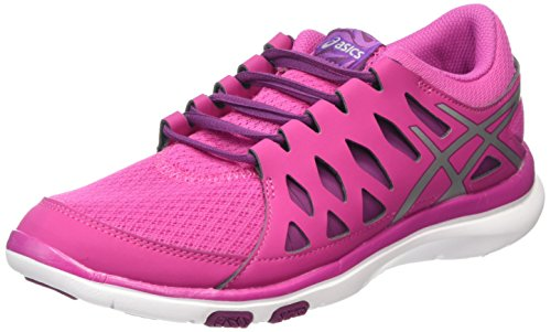 Mujer De Plum para Gel fit Berry Silver Deporte Tempo Zapatillas Asics Rosa 2193 2 Exterior zUB4qq