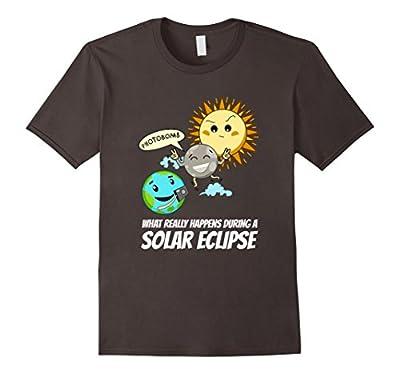 Solar Eclipse 2017 Photobomb Funny Tshirt