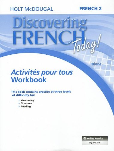 - Discovering French Today: Activités pour tous Level 2 (French Edition)