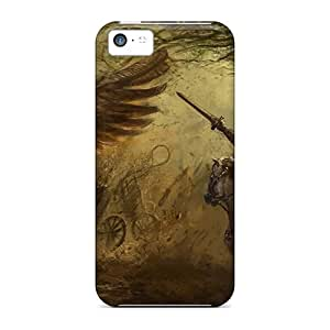 Flexible Tpu Back Cases Covers For Iphone 5c - Slayer Of Beasts